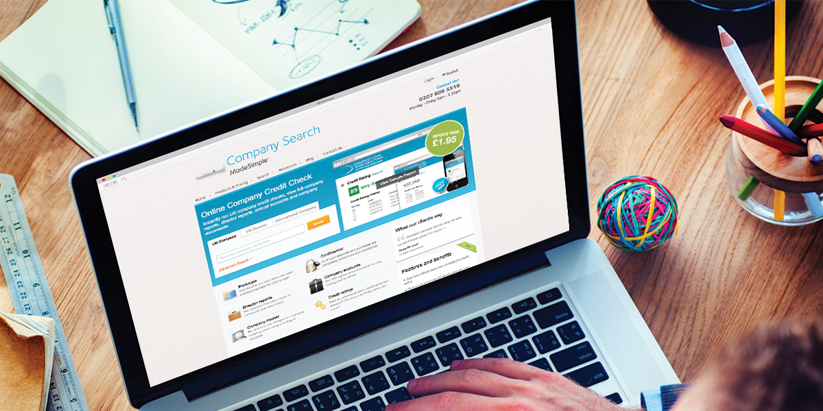 Company searches to check credit ratings and much more!
